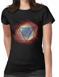 D20 - Nebula Womens Fitted T-Shirt