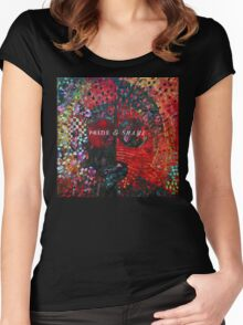 Pride & Shame Album cover artwork Women's Fitted Scoop T-Shirt