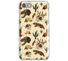 Desert Creatures iPhone Case/Skin