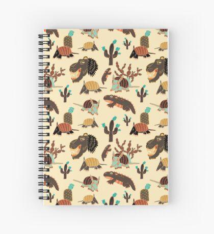 Desert Creatures Spiral Notebook