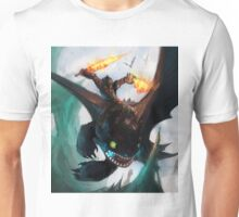 Toothless fighting Unisex T-Shirt