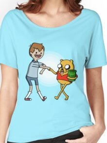 Finnie the Pooh Women's Relaxed Fit T-Shirt