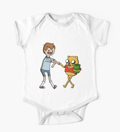 Finnie the Pooh One Piece - Short Sleeve