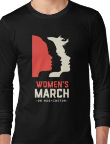 Official women's  march on washington  Long Sleeve T-Shirt