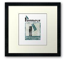 Penneys Framed Print