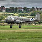 Douglas C47A-DC3 Dakota by Nigel Bangert