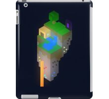 Minimalistic Minecraft Floating Island iPad Case/Skin
