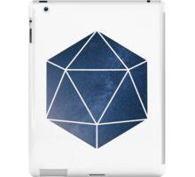 D20 - Blue Space iPad Case/Skin