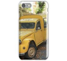 Vintage French car by ProvenceProvence iPhone Case/Skin