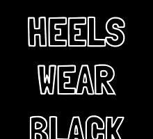 Heels Wear Black by Grace-Moxley