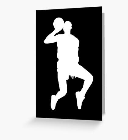 '88 Jordan in White Greeting Card