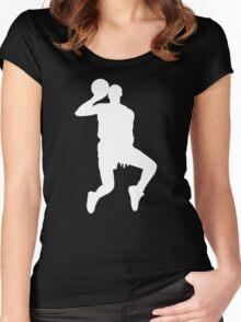 '88 Jordan in White Women's Fitted Scoop T-Shirt