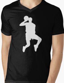 '88 Jordan in White Mens V-Neck T-Shirt