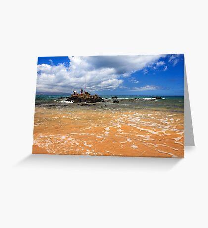 Fishing In Maui Greeting Card