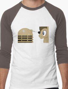 Dr Whooves Men's Baseball ¾ T-Shirt