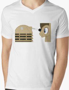 Dr Whooves Mens V-Neck T-Shirt