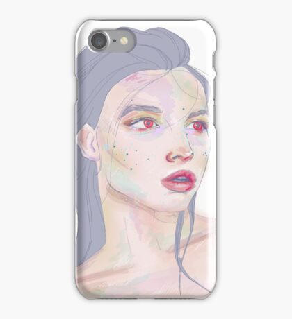 Red Moon Elf iPhone Case/Skin