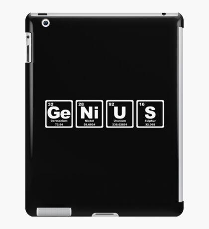 Genius - Periodic Table iPad Case/Skin