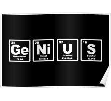 Genius - Periodic Table Poster