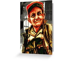 Craftsman Plumber Greeting Card