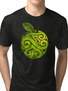 Swirly Apple Tri-blend T-Shirt