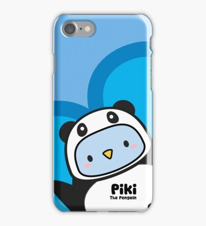 Piki Panda iPhone Case/Skin