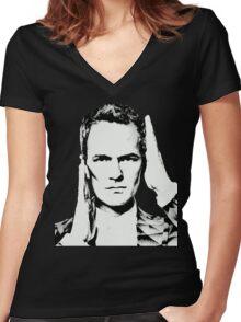 NPH Women's Fitted V-Neck T-Shirt