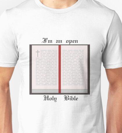 I'm an open book Unisex T-Shirt