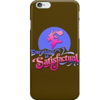 Everything is Satisfactual iPhone Case/Skin
