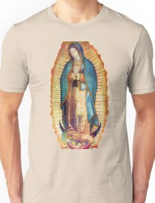 Our Lady Virgin Mary of Guadalupe Tilma Virgen Maria Unisex T-Shirt