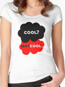 Cool? Not Cool. Women's Fitted Scoop T-Shirt
