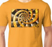 Steampunk - Clock - The flow of time Unisex T-Shirt