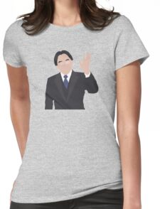 Nintendo Switch, Thank You Mr.Iwata Womens Fitted T-Shirt