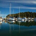 A Calm Day In Winchester Bay by James Eddy
