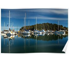 A Calm Day In Winchester Bay Poster