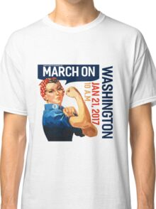 Womens march on washington 2017 Classic T-Shirt
