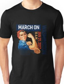 Womens march on washington 2017 Unisex T-Shirt