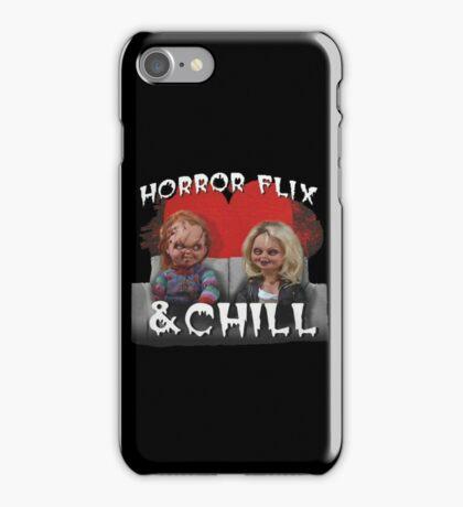 Horror Flix & Chill iPhone Case/Skin