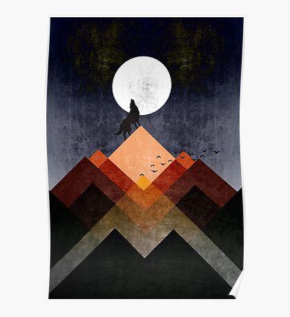 The Wolf Home Poster
