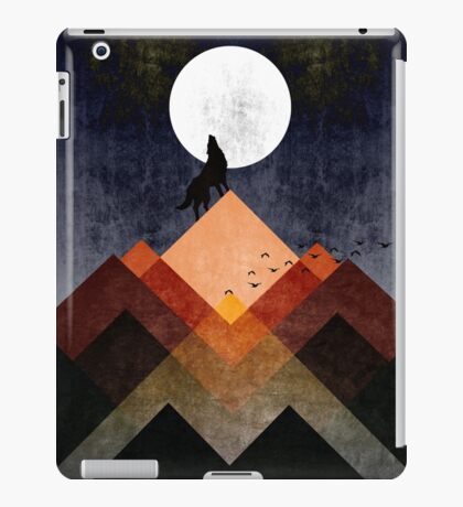 The Wolf Home iPad Case/Skin
