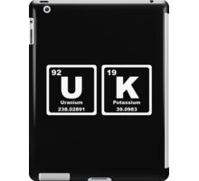 UK - Periodic Table iPad Case/Skin