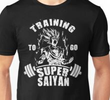 Training To Go Super Saiyan - Teen Gohan Unisex T-Shirt