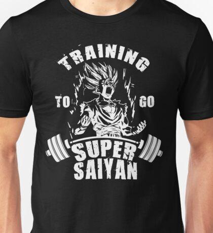 Training To Go Super Saiyan - Teen Gohan Unisex T-Shirt