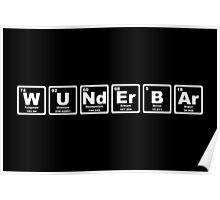 Wunderbar - Periodic Table Poster