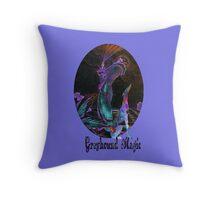 Greyhound Magic Throw Pillow