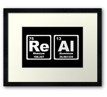 Real - Periodic Table Framed Print