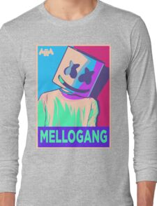 Marshmello Mellogang Neon Long Sleeve T-Shirt