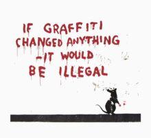 Banksy Graffiti by ThisIsFootball
