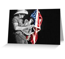 Brad Paisley in Concert Greeting Card