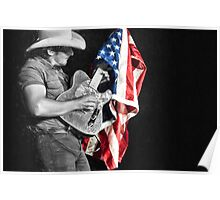 Brad Paisley in Concert Poster
